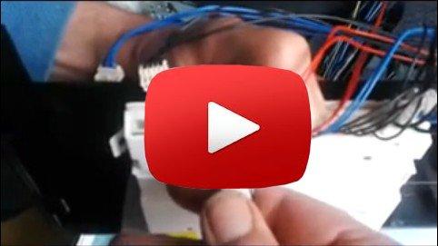 ATAG VA6011 of DE6955 Zanussi vaatwasser repareren losse contacten op de printplaat (stuurmodule) solderen.