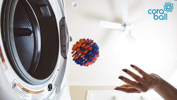 De Cora Ball voor wasmachine moeten uitkomst bieden