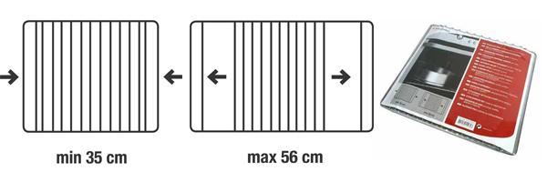 Ovenrooster grillrooster universeel voor Oven, Combimagnetron